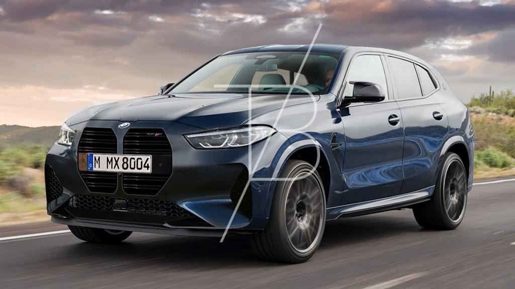 4月中旬註冊商標的BMW天霸王X8 M可能長這樣?!